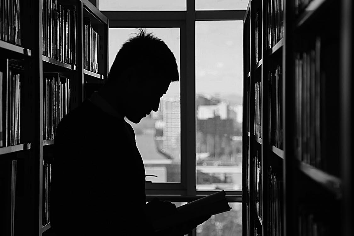 Bibliotheek de nacht van de misdaad