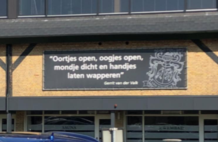Spreuk Van der Valk